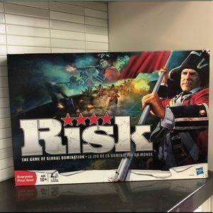 Risk board game by Hasbro